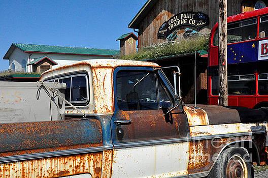 Rusty Truck in Homer Alaska by Tanya Searcy