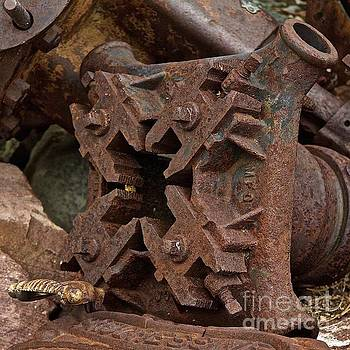 Rusty truck parts by Anthony Jones