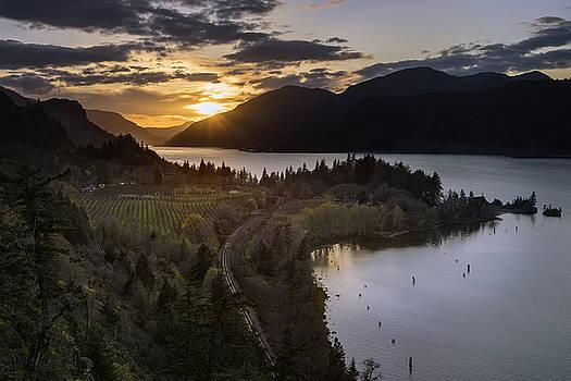 Ruthton Springtime Sunset by Jon Ares