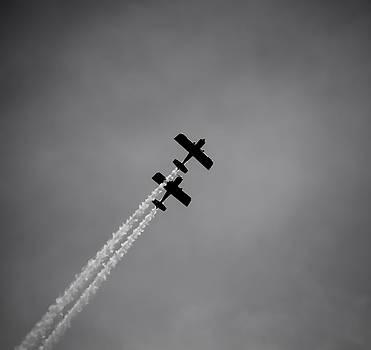 RV8TORS Silhouette Sunderland Air Show 2014 by Scott Lyons