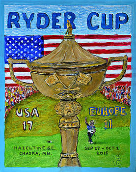Ryder Cup 2016 by Richard Wandell