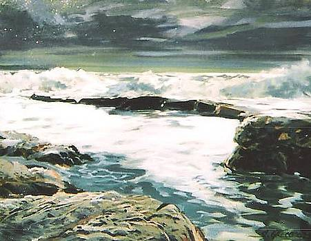 Rye Beach by Steve Greco