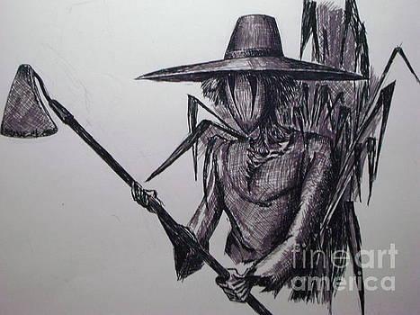 Rye Scarecrow by Oleg Kozelskiy