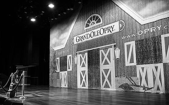 Ryman Opry Stage by Glenn DiPaola
