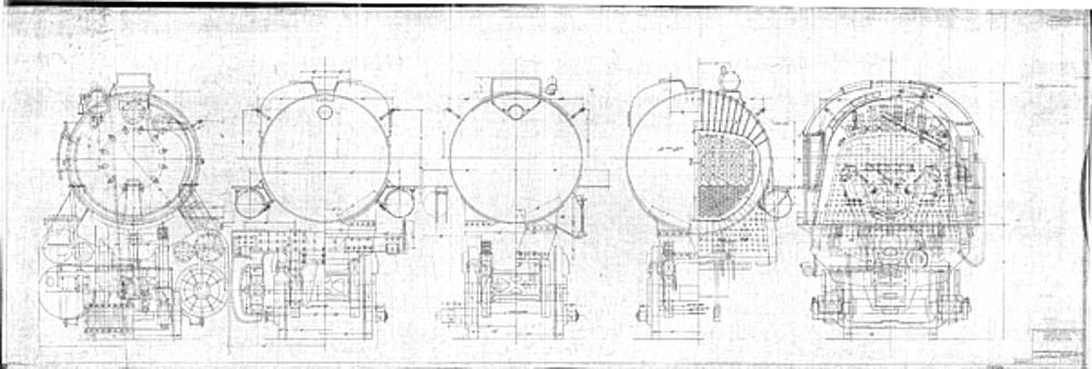 S-1a Cross Sections by Baltimore and Ohio Railroad
