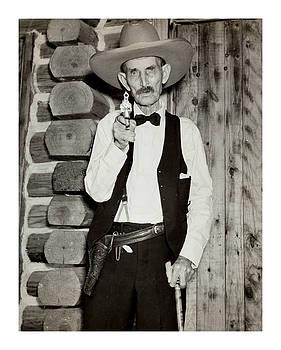S P Elkins Oldest Known Texas Ranger 1935 by Peter Gumaer Ogden