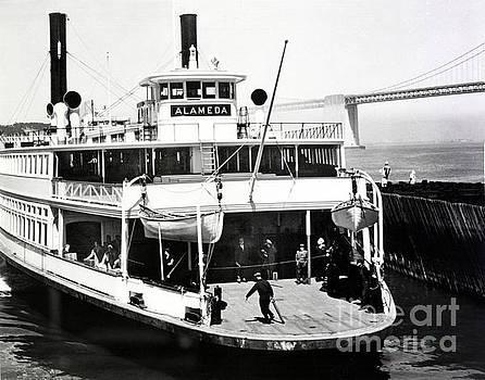 California Views Mr Pat Hathaway Archives - S. P. Ferry Alameda at San Francisco circa 1940