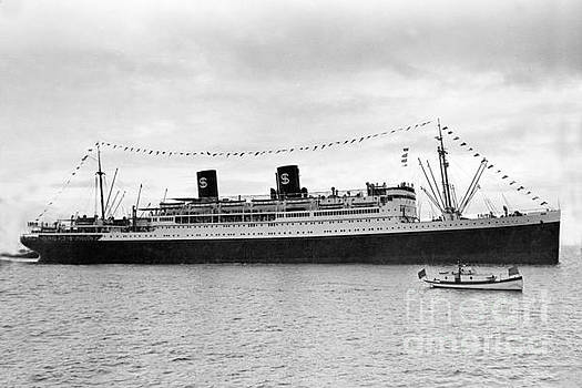 California Views Mr Pat Hathaway Archives - S. S. President Hoover, Passenger vessel,  built in 1931