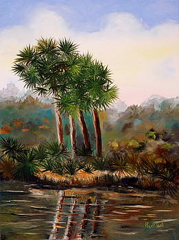 Sabal Palmettos by Phil Burton