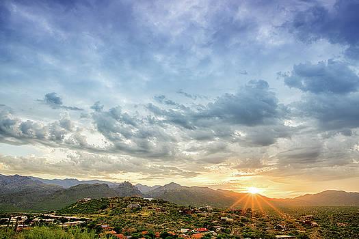 Sabino Canyon Sunrise by Kayta Kobayashi