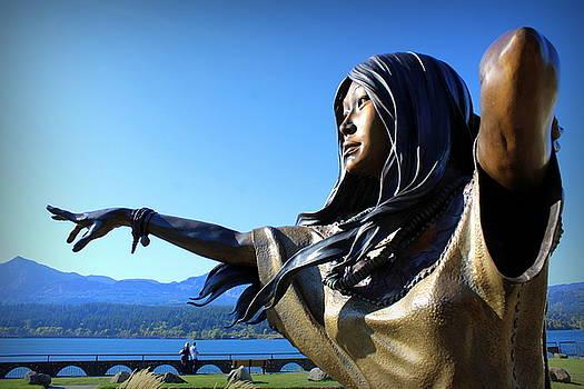 Sacagawea  by Maureen Jordan