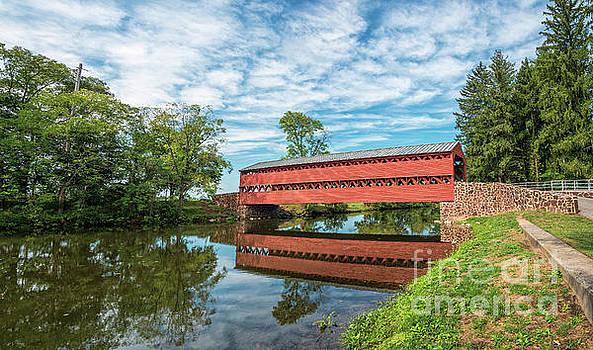 Sachs Covered Bridge by Craig Leaper