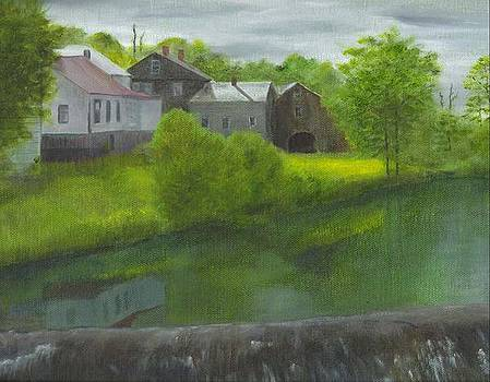 Sacketts Dam by Laurel Ellis