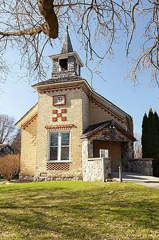 Sackrider United Brethren Church by Fran Riley