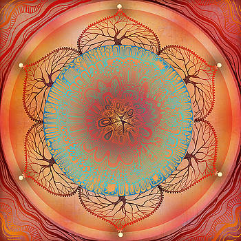 Sacral Chakra by Brenda Erickson