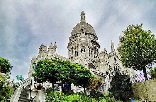 Robert Meyers-Lussier - Sacre-Coeur Basilica Study 3