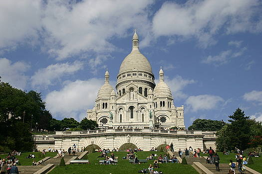 Sacre Coeur  Paris France by Matthew Kennedy