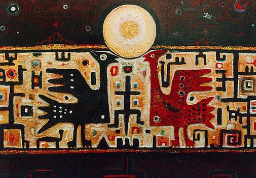 Sacred Birds by Angelo Mazzoleni