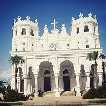 Sacred Heart Galveston TX by Sophia Perez