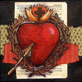 Sacred Heart No. 2 by Candy Mayer