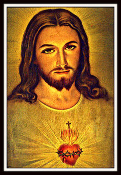 Sacred Heart of Jesus by Aron Chervin