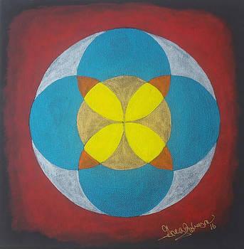 Sacred Math Star by Greg Roberson