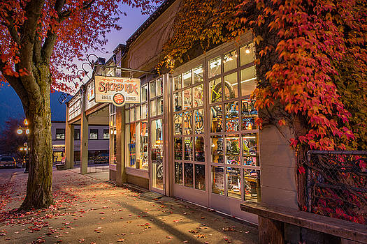 Sacred Ride Storefront by Joy McAdams
