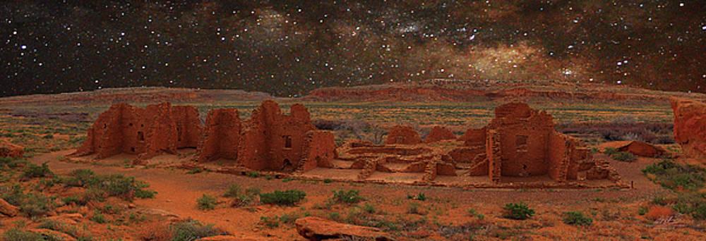 Sacred Site Panorama by Richard Estrada