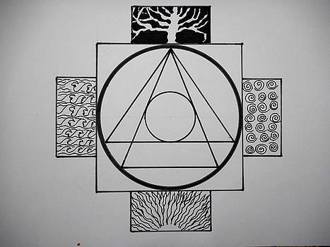 Sacred symbol by Jesus Nicolas Castanon