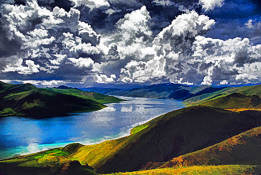 Dennis Cox - Sacred Tibetan Lake
