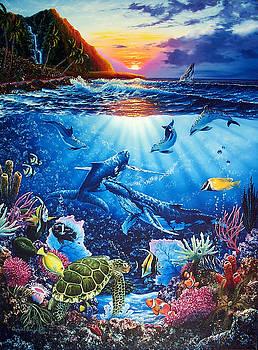Sacred Waters by Daniel Bergren