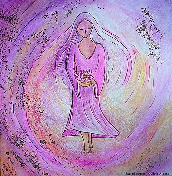 Sacred woman by Gioia Albano