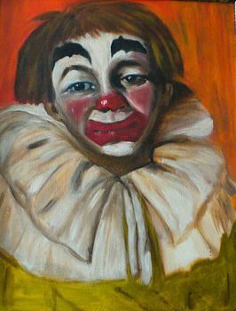 Sad Clown by Rosalin Moss