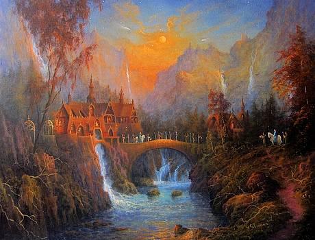 Sad Farewell To The Elves by Ray Gilronan