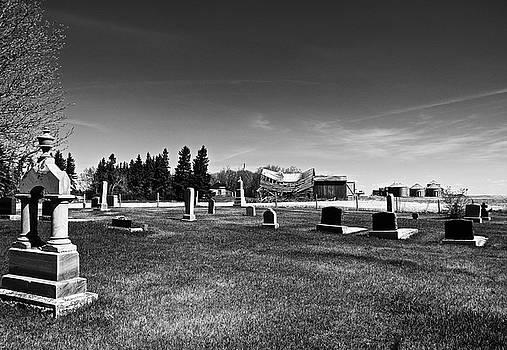 Saddle Church and Graveyard 2 by Brian Sereda