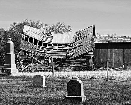 Saddle Church and Graveyard by Brian Sereda