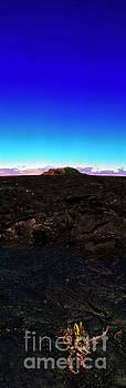 Saddle Road Humuula Lava field big island hawaii  by Tom Jelen