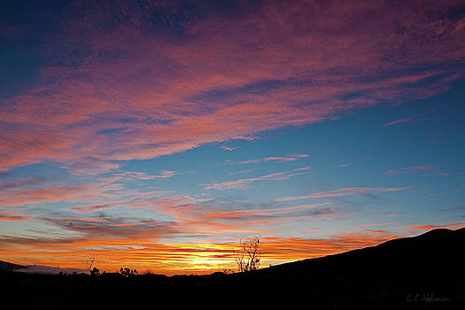 Christopher Holmes - Saddle Road Sunset