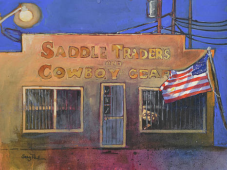 Saddle Shop by Suzy Pal Powell