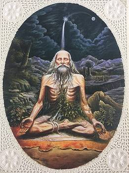 Sadhu portrait  by Ankit Mehta