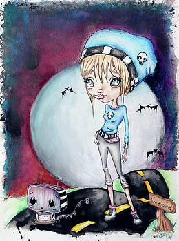 Sadie Burns and Peanut by Lizzy Love