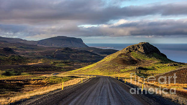 Saefellsjokull Iceland by Chris Thaxter