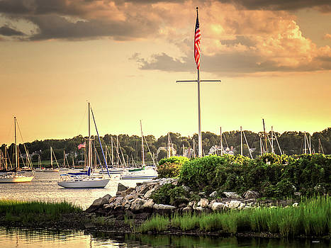 Safe Harbor Bristol RI by Tom Prendergast