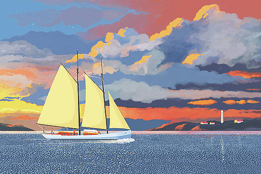 Safe Harbour by Gary Giacomelli