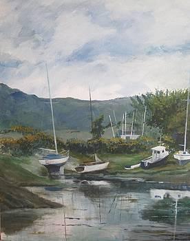 Safe harbour - Lochcarron by Cindie Reiter