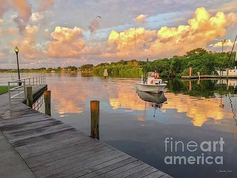 Safety Harbor Fisherman  by Jacqueline Faust
