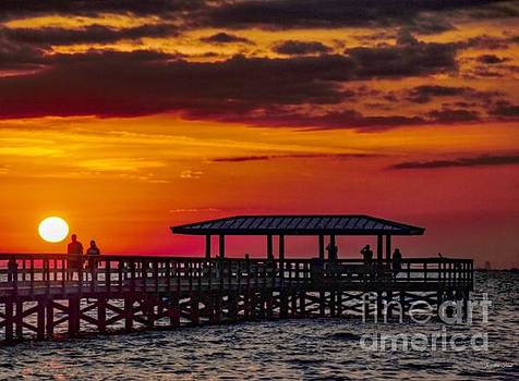 Safety Harbor Sunrise by Jacqueline Faust