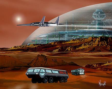 Sagan City by Bill Wright