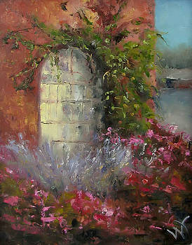 Sage and Roses by Wendie Thompson