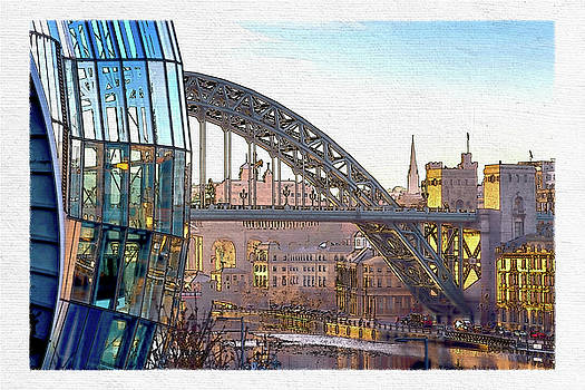 David Pringle - Sage and Tyne Bridge